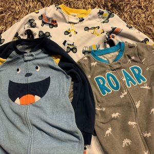 3Carter Full Length Footsie Pajama for Little Boy